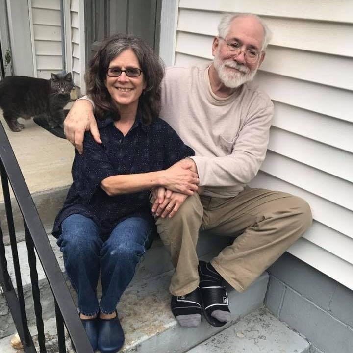 John & Wendy McVicker with Dora