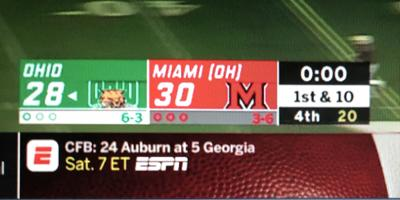 score Ohio Miami