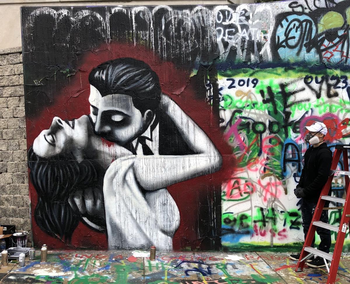 vampire mural