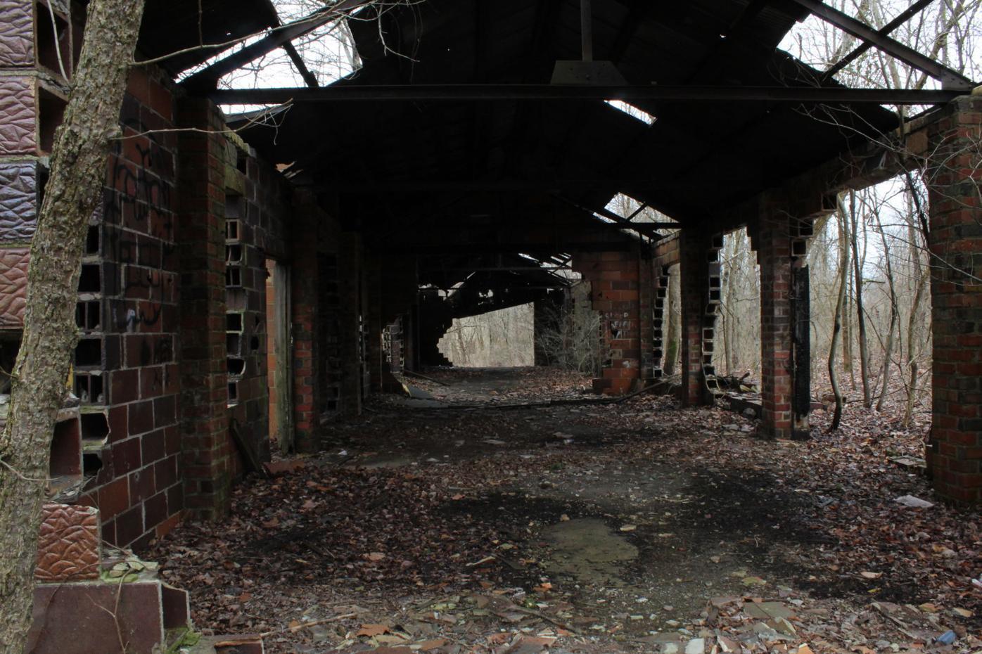 Mine buildings in The Baileys