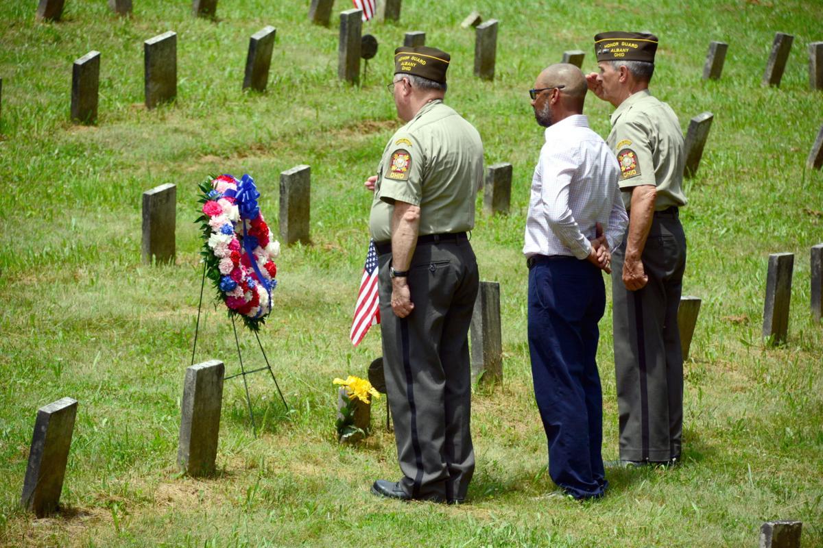 Ridges grave black veteran