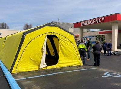 triage tents