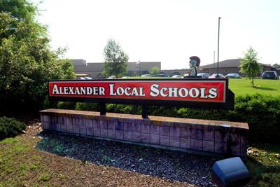 Alex Schools sign