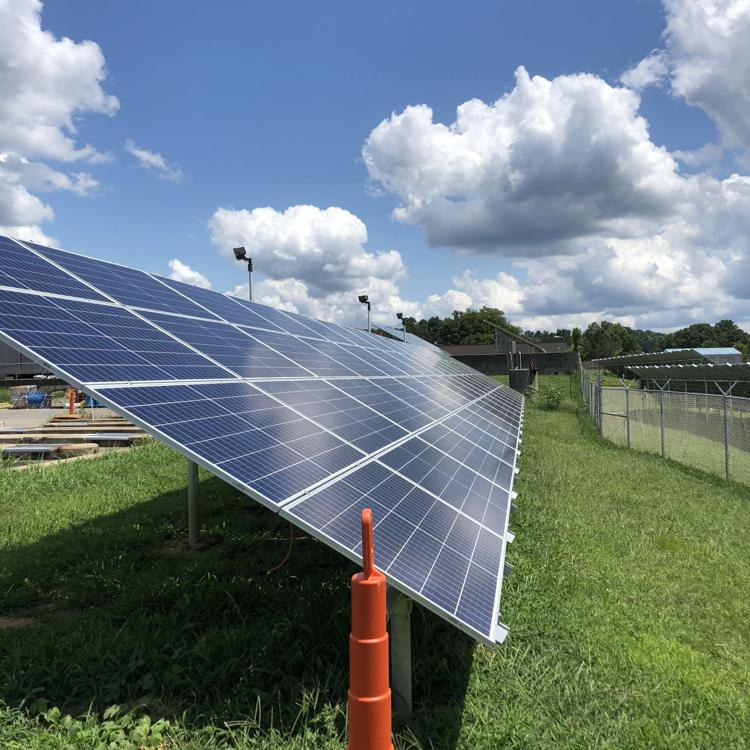 City (Athens, Ohio) water treatment plant gets new solar array