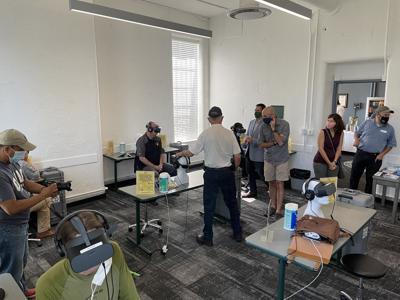 Law enforcement VR training
