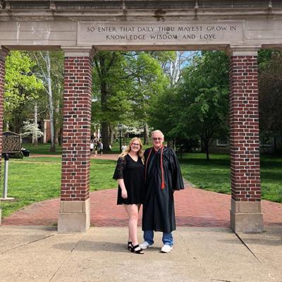 Stratton and George grads