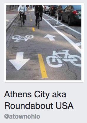 Athens City aka Roundabout USA