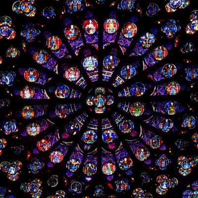 Notre-Dame window