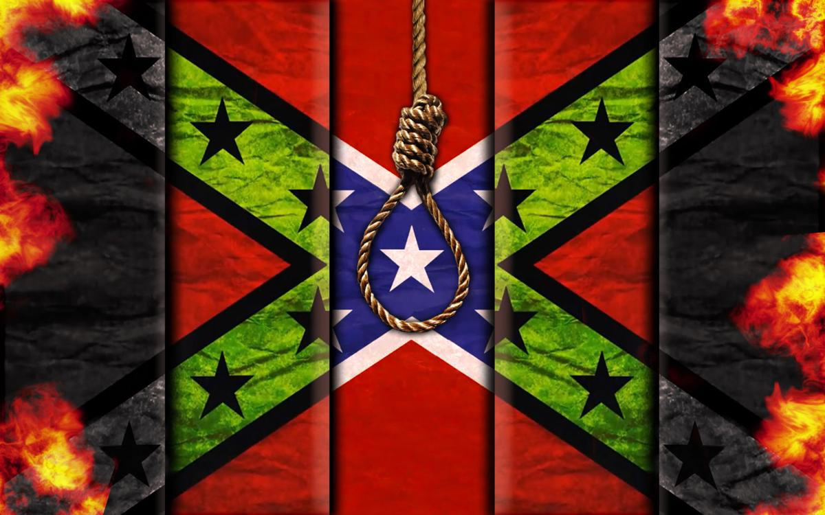 visiting artist at ou plans to execute the rebel flag arts and
