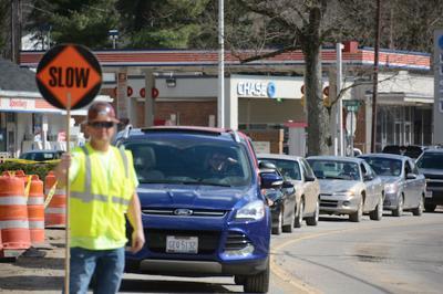 Richland Avenue construction work