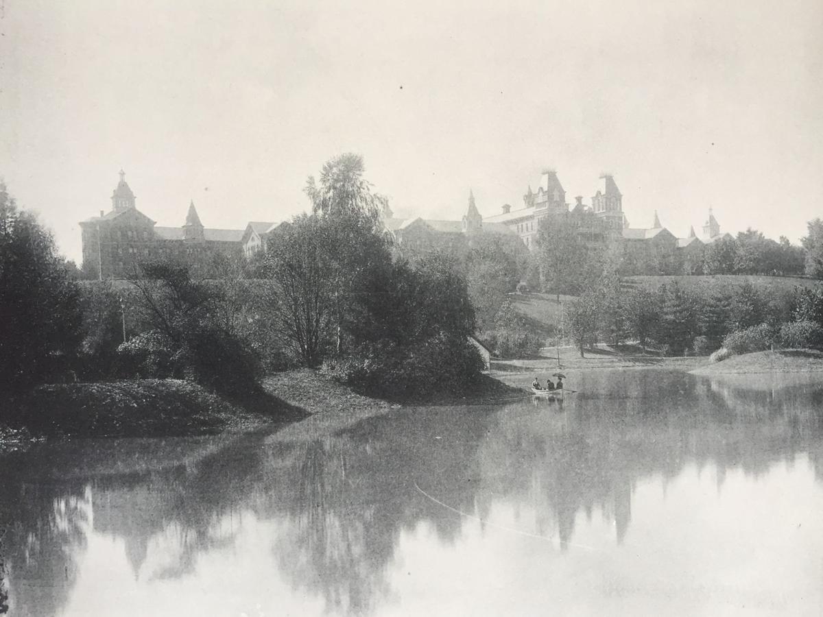 Athens Asylum historic pic
