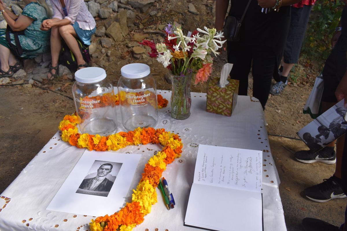 Chris Davis memorial