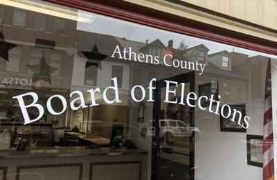 Board of Elections window on Court St.
