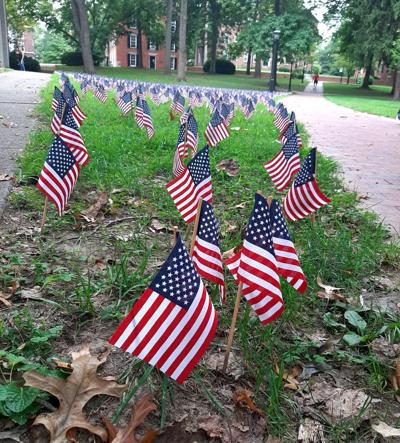 9/11 flags