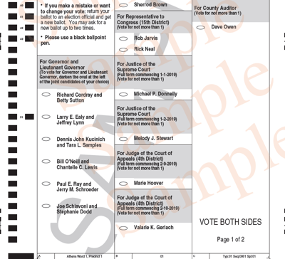 Election day approaches in athens county | spotlight.