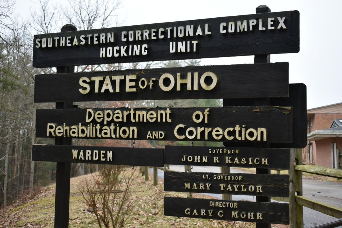 Hocking Correctional Complex old sign