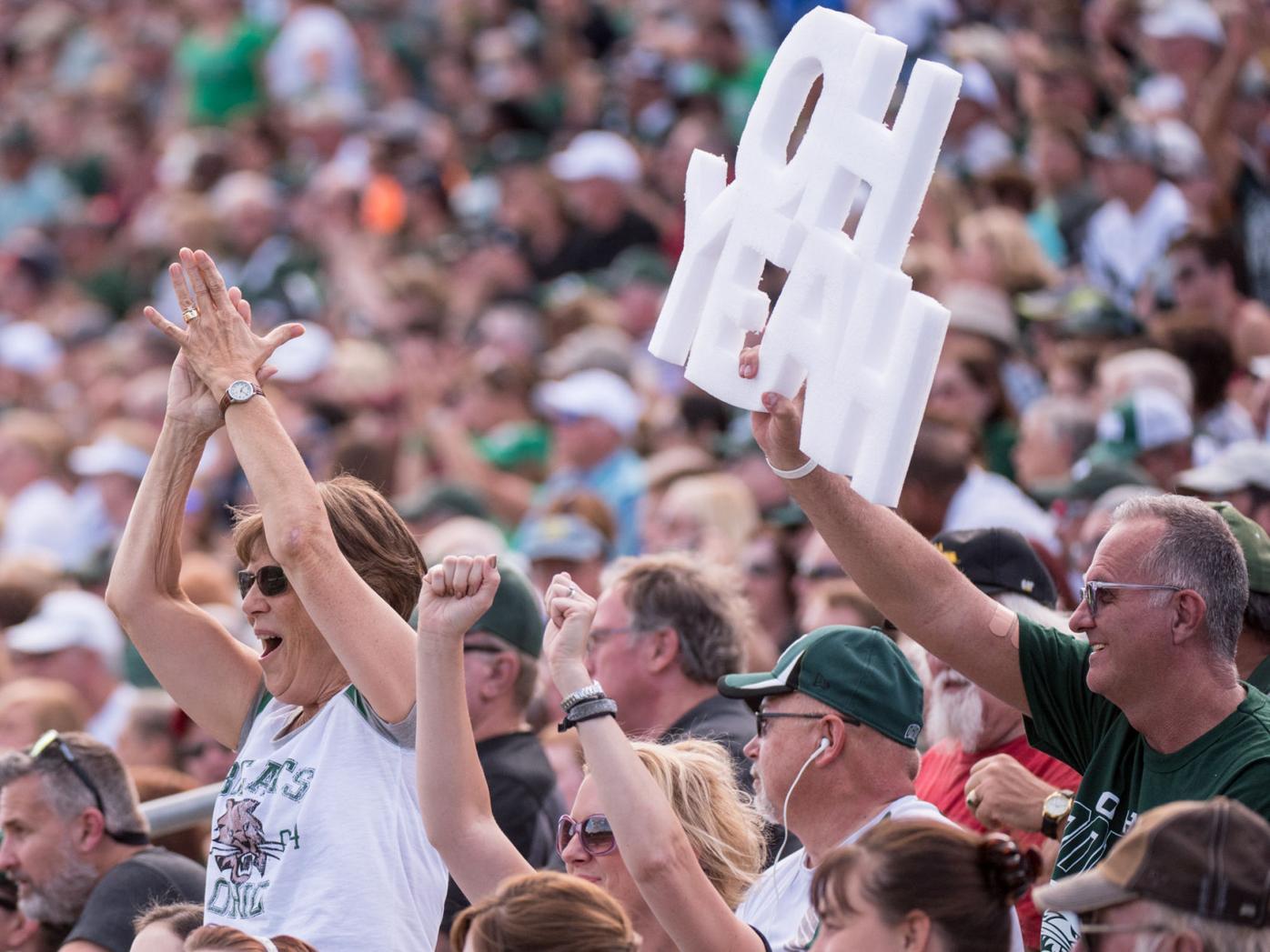 Ohio Texas State crowd