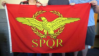 Flag of the Roman standard