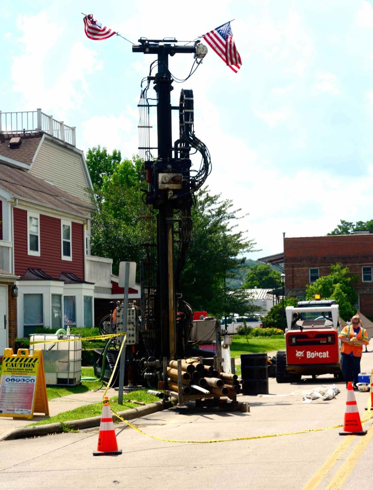 gas company drilling