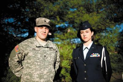 OU has a close, positive relationship with ROTC
