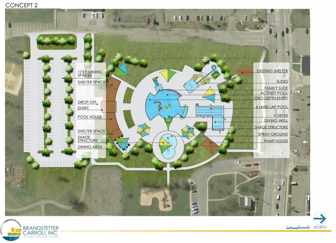 Rec advisory board makes recommendation for city pool for Pool design concepts