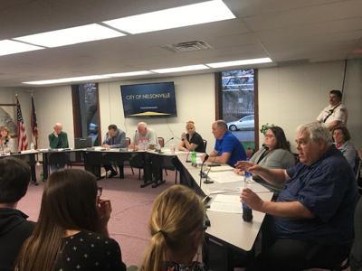 Nelsonville meeting - greg smith