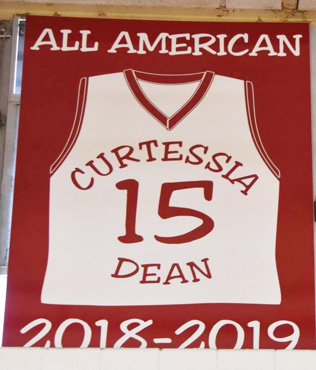 Curtessia Dean jersey