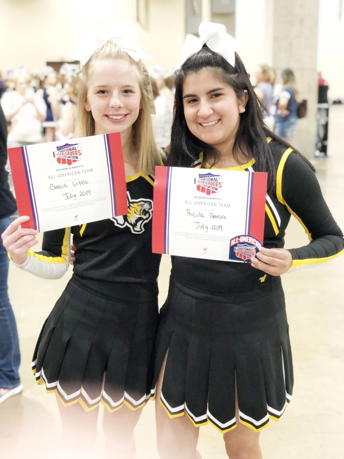 Gracie Little and Pricilla Garcia