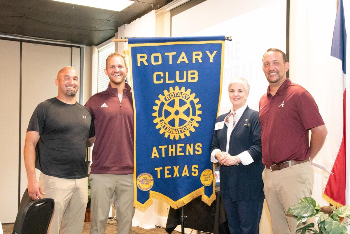 Zac Harrell at Athens Rotary Club