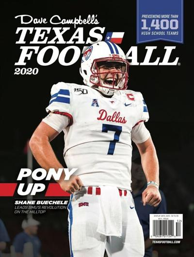 Dave Campbell's football cover