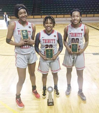 All-Tournament Lady Cardinals