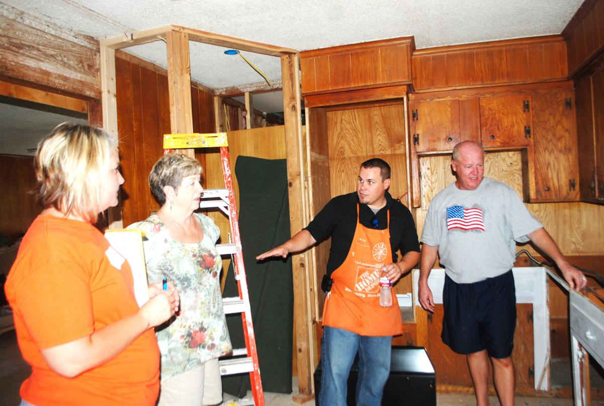 Chapman house and home depot partner for veterans news for Chapman house