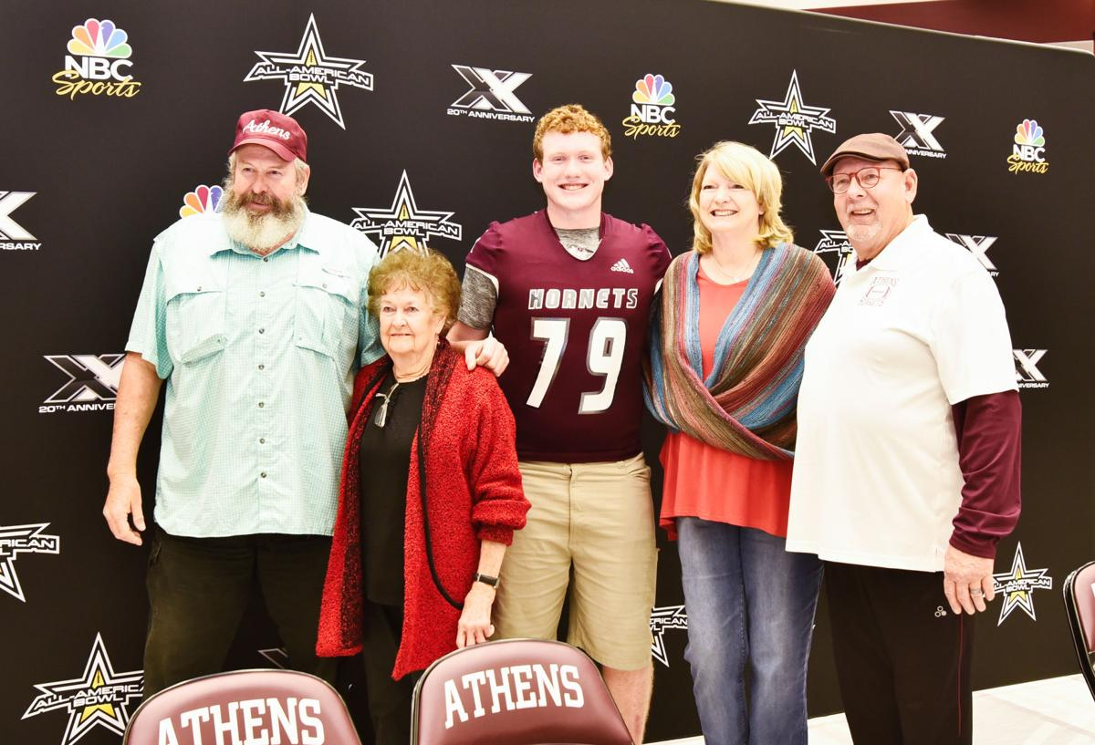 Garrett Hayes and family