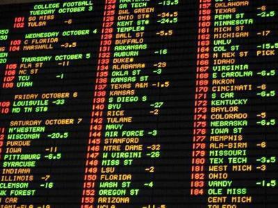 las vegas odds betting