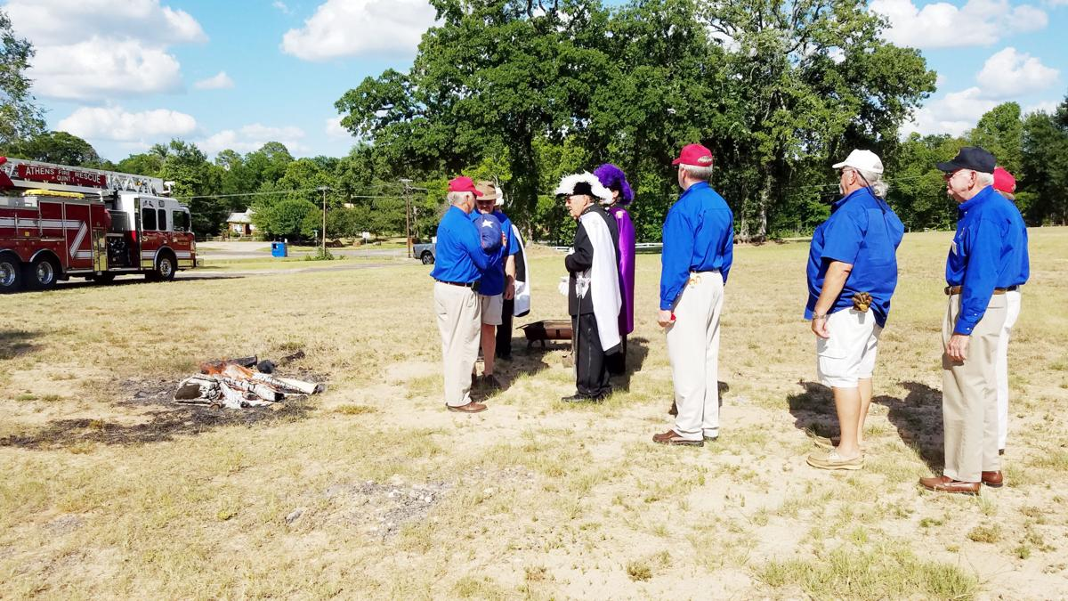 Knights, Boy Scouts host flag-retirement event