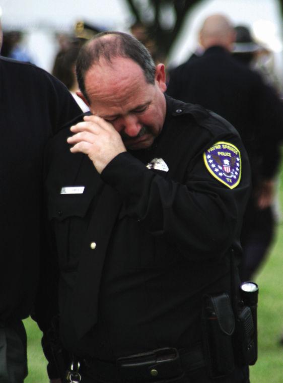 Emotional policeman