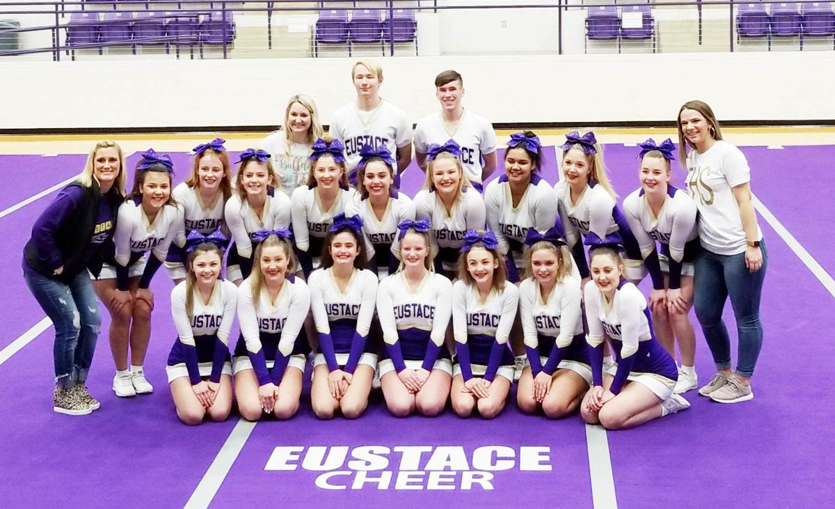 Eustace cheer team