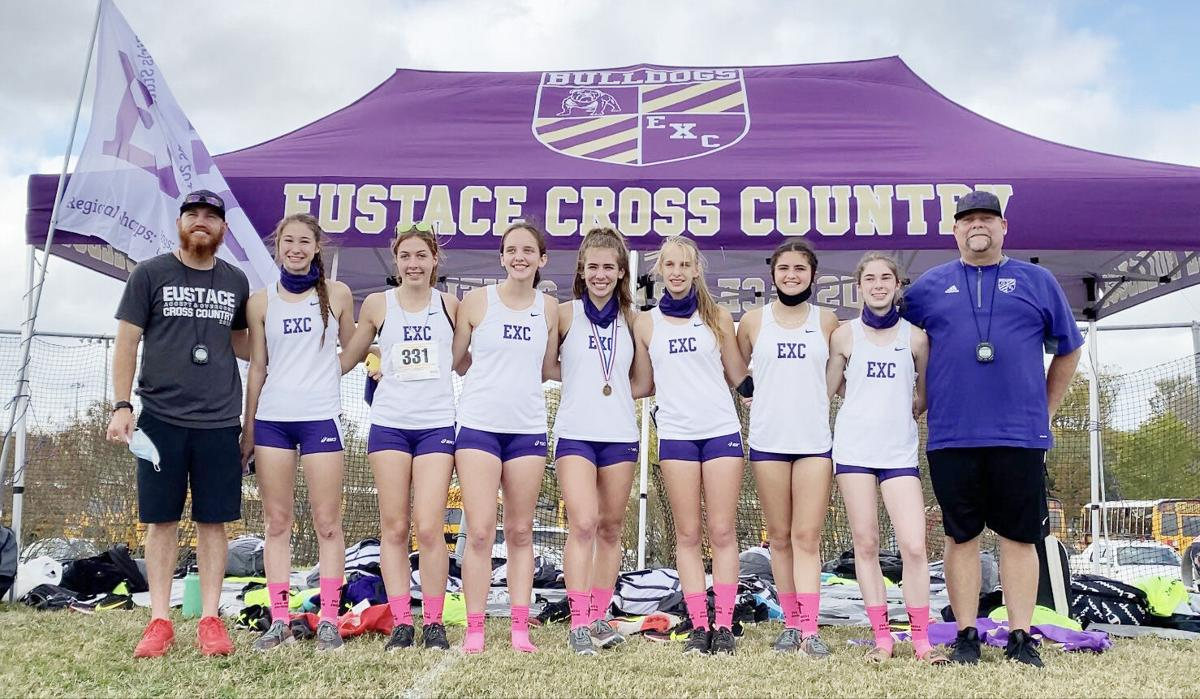 Eustace Lady Bulldogs cross country