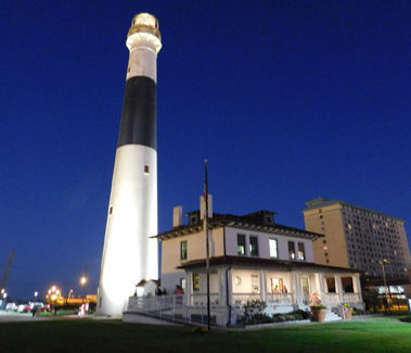 Absecon Lighthouse at Night