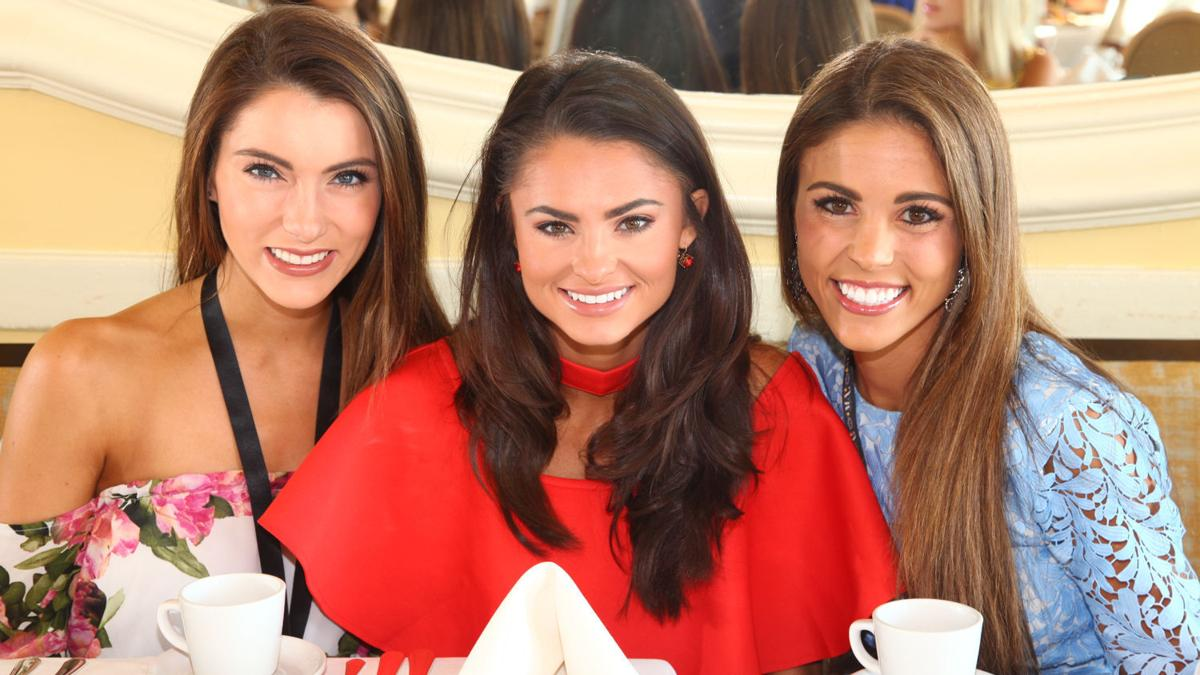Brunch is on at Capriccio for the Miss America contestants