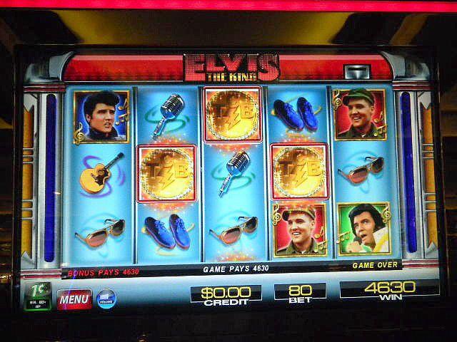 Elvis slots by IGT