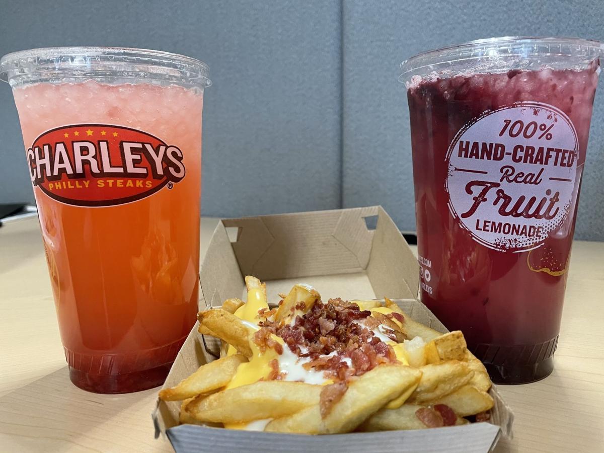Charley's steaks fries and lemonades