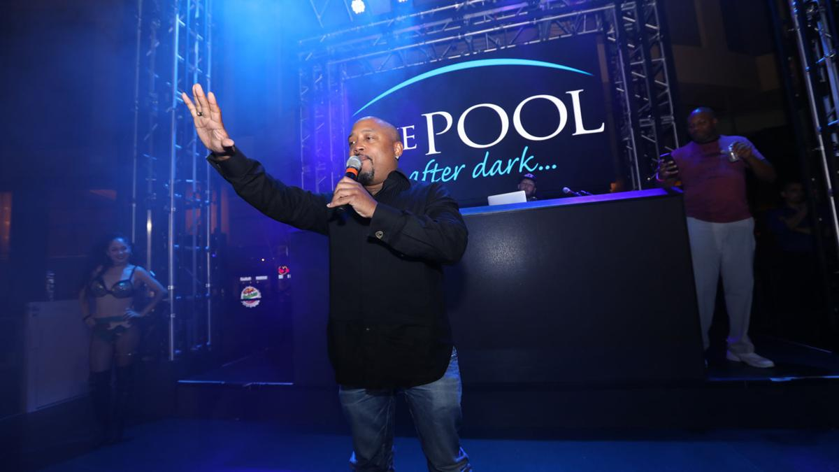 Daymond Garfield John gets down to business at The Pool