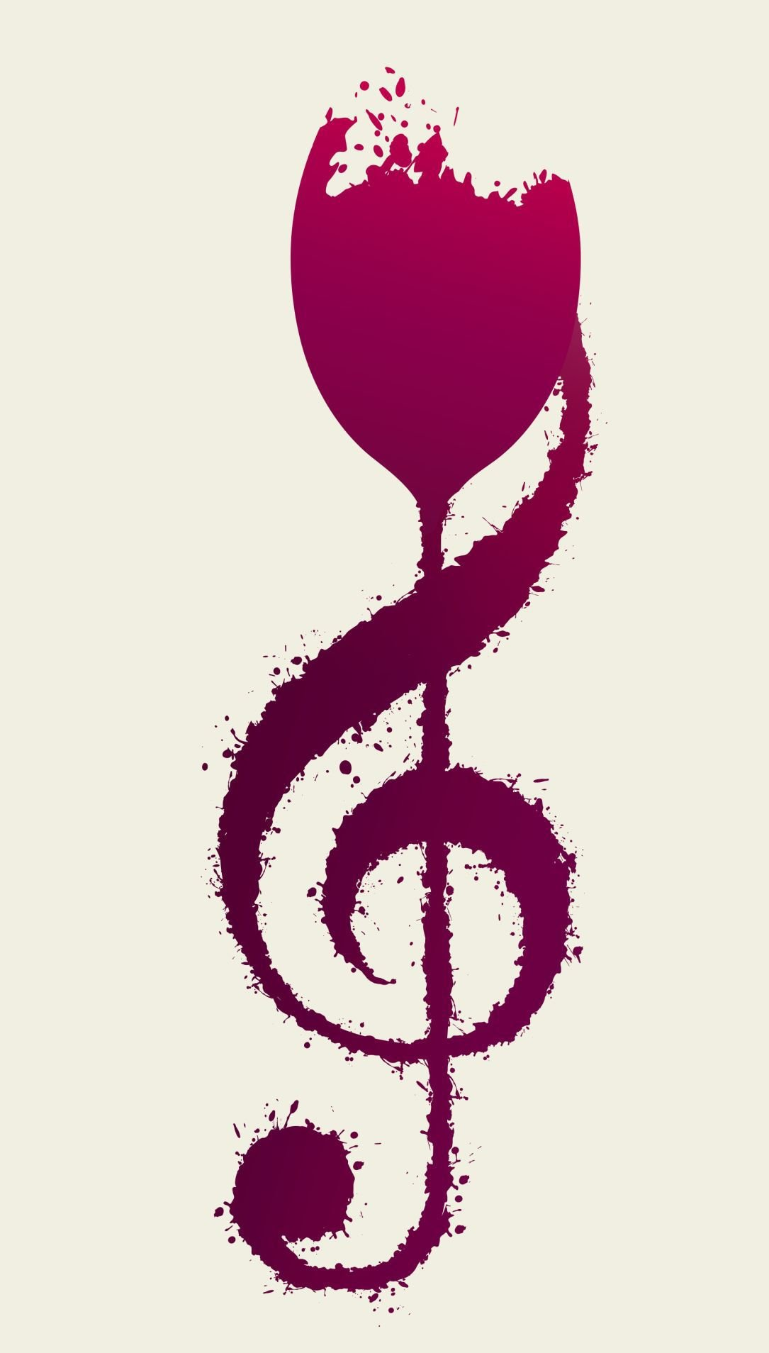 Wine with music