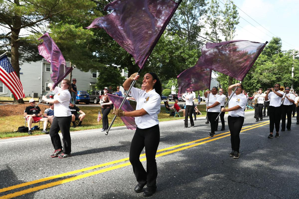 Fourth of July parade in Galloway