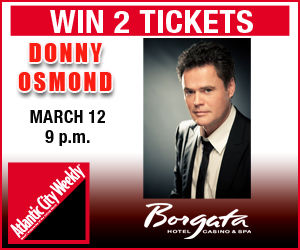 Win 2 tickets to see Donny Osmond on March 12