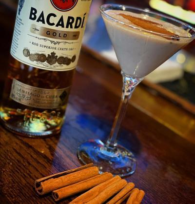 Tailgaters Coquito Martini