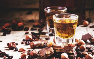 chocolate and bourbon
