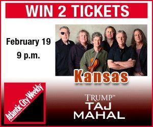 Win 2 tickets to see Kansas at Trump Taj Mahal on Feb. 19