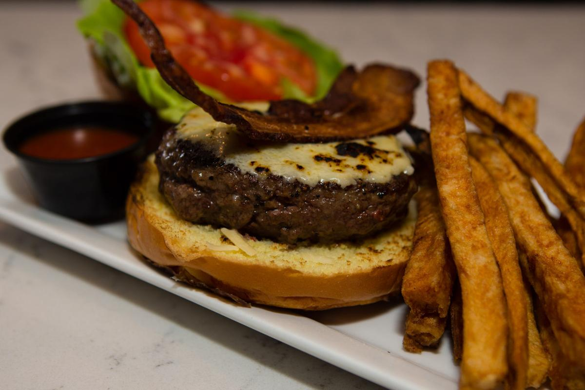 1. The Iron Room, Atlantic City — The Flat Iron Burger ($15)